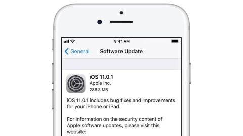 iOS 11.0.1 güncellemesi yayımlandı
