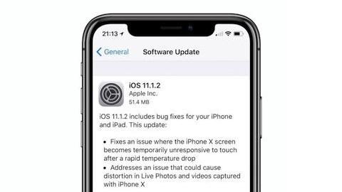 iOS 11.1.2 güncellemesi yayımlandı