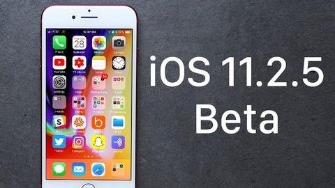 iOS 11.2.5 beta 3 güncellemesi çıktı