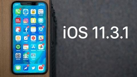 iOS 11.3.1 güncellemesi çıktı