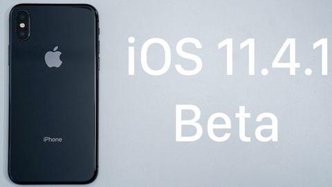 iOS 11.4.1 beta 1 dağıtılmaya başladı