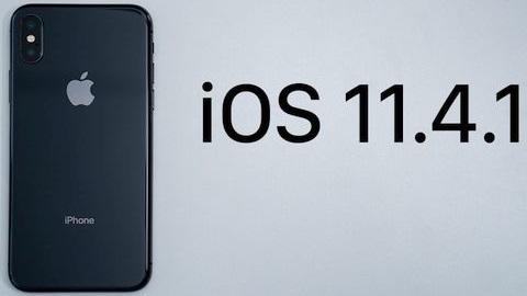iOS 11.4.1 güncellemesi çıktı