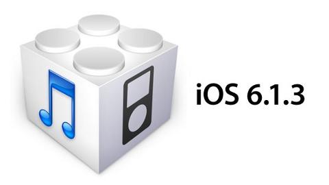 iOS 6.1.3 güncellemesi yayında