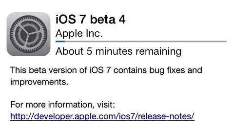 iOS 7 beta 4 yayımlandı, yenilikler ve biyometrik okuyucu fonksiyonu detaylandı