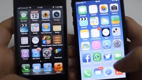 iOS 7 video inceleme