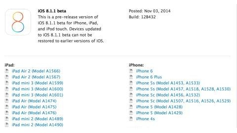 iOS 8.1.1 ile iPad 2 ve iPhone 4S'nin performansı artacak