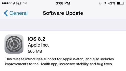 iOS 8.2 güncellemesi yayımlandı, tüm yenilikleri açıklandı