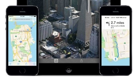 iOS 8, yenilenmiş bir Haritalar uygulamasıyla yayımlanacak