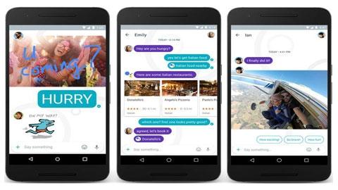 iOS Google Allo Mesajlaşma Uygulaması