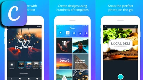 iOS için Grafik & Tasarım Uygulaması Canva