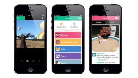 iOS için Vine uygulaması birçok yeni özellikle güncellendi