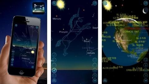 iOS uyumlu Night Sky 2 uygulaması ile uzayı telefonunuzdan izleyin