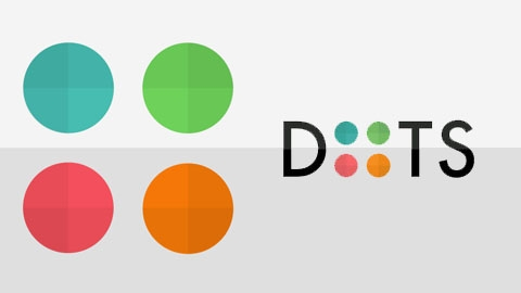 iOS ve Android için zeka oyunu: Dots: A Game About Connecting