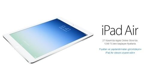 iPad Air ve ikinci nesil iPad mini'nin Türkiye çıkış tarihi ve fiyatı
