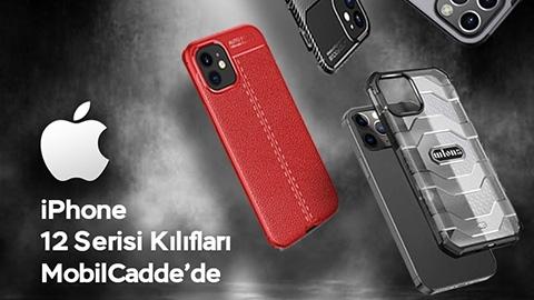 İPhone 12 Kılıf ve Aksesuarları Mobilcadde'de Satışta!