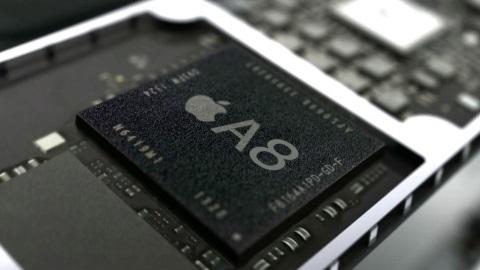 iPhone 6'nın Apple A8 yongası 2,0 GHz hızında çalışabilir