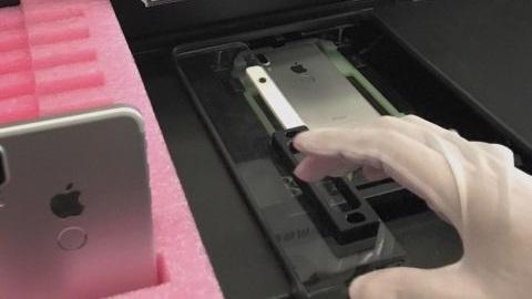 iPhone 8'in parmak izi okuyucusundan yeni görüntü