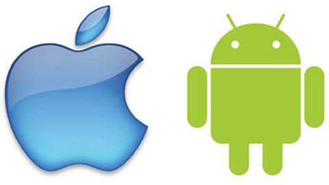 İşletim sistemi Android, akıllı telefon iPhone
