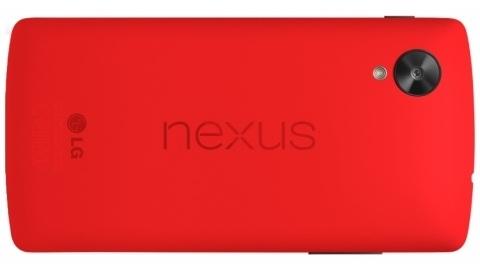 Kırmızı Nexus 5 resmen piyasaya sürüldü