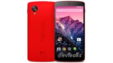 Kırmızı Nexus 5'in ilk basın görseli sızdı