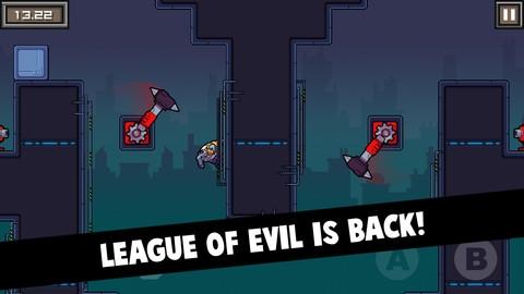 League of Evil 3 iPhone oyunu kısa bir süreliğine ücretsiz