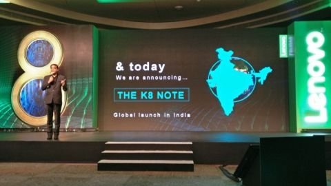 Çift arka kameralı Lenovo K8 Note tanıtıldı