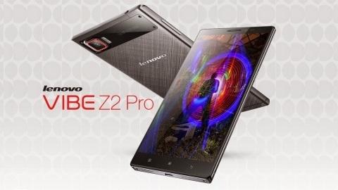 Lenovo Vibe Z2 Pro ve Vibe X2 Türkiye'de