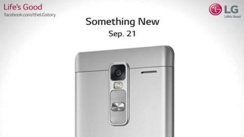 5,7 inçlik LG Class akıllı telefon 21 Eylül'de tanıtılacak
