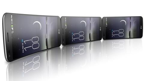 LG G Flex şubatta Avrupa'ya geliyor