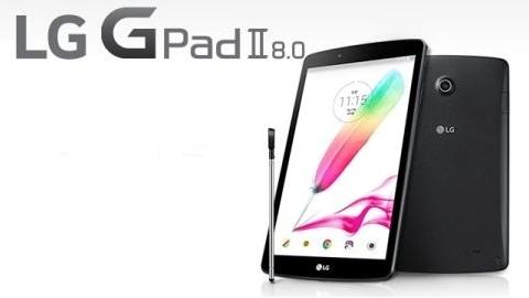LG, tam boyutlu USB porta sahip G Pad 2 8.0 tabletini resmen duyurdu