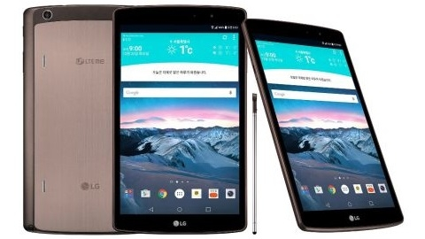8,3 inçlik LG G Pad II resmen duyuruldu
