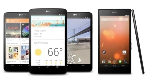 Sony Z Ultra ve LG G Pad 8.3 Google Play Edition duyuruldu