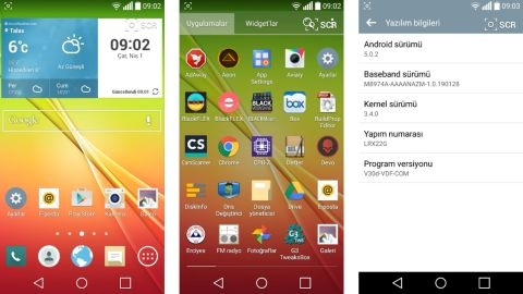 LG G2 için Android 5.0.2 Lollipop güncellemesi Türkiye'de