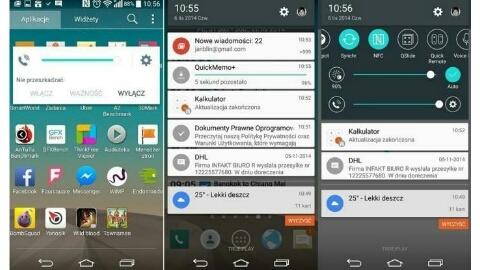 LG'nin Android 5.0 Lollipop tabanlı kullanıcı arayüzü görüntülendi