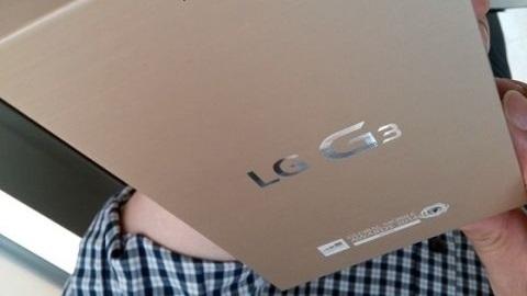 LG G3'ün altın renk seçeneği doğrulandı