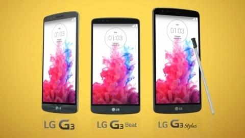 Galaxy Note 4'e rakip LG G3 Stylus resmen görüntülendi