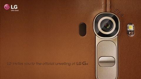 LG G4'ün deri arka kapağı görüntülendi