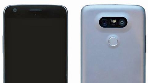 LG G5'in ön ve arka yüzü görüntülendi