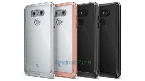 Yeni LG G6 kılıf görüntüleri