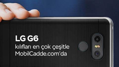 LG G6 Kılıfları MobilCadde.com'da satışa başladı