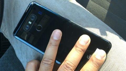 Parlak siyah renkli LG G6 görüntülendi