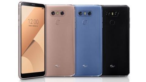 LG G6 Plus ve G6 32 GB resmiyet kazandı