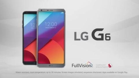 LG G6 için ilk televizyon reklamı