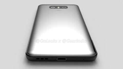 LG G6'nın render görüntüleri sızdı
