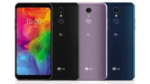 LG Q7 serisi telefonlar resmen tanıtıldı