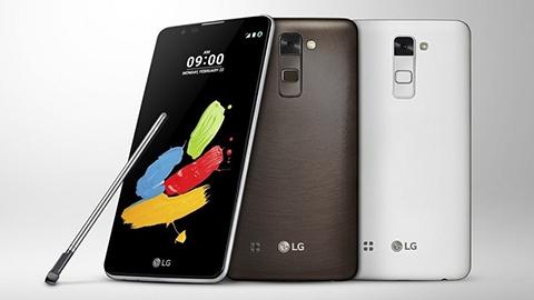 LG Stylus 2 Plus küresel çapta satışa çıkıyor