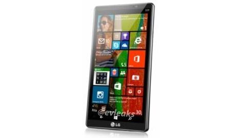 LG'nin Windows Phone 8.1 işletim sistemli ilk telefonu görüntülendi