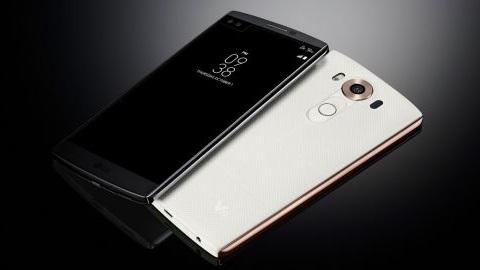 İkincil ekran ve çift ön kameraya sahip LG V10 resmen tanıtıldı