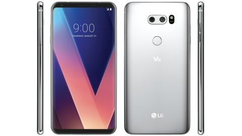 LG V30'un yeni basın görseli internete sızdı