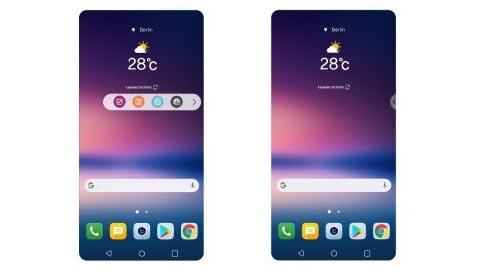 LG V30'un kullanıcı arayüzü resmen tanıtıldı